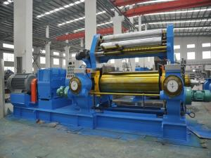 Rubber Mixing Mill with Stock Blender